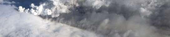 La ceniza de un volcán islandés cierra el espacio aéreo del norte  de Europa  (Imagen: Armi Saeberg / EFE)