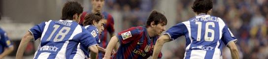 El Espanyol asfixia al Barça en el derbi y ayuda al Real Madrid en la Liga  (Imagen: EFE)