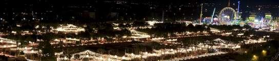 El alumbrado de 370.000 bombillas abre la 163 edición de la Feria de Sevilla  (Imagen: José Manuel Vidal)