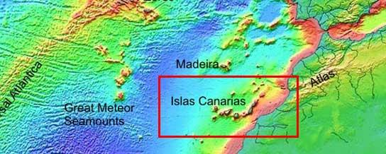 <p>Marco geodinámico de las Islas Canarias</p>