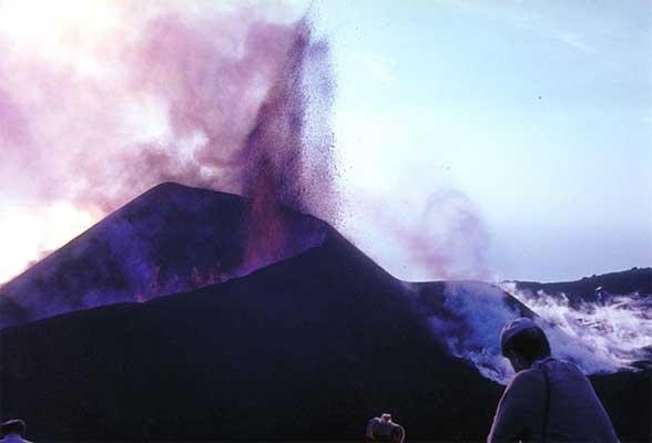 Erupción volcánica de Teneguía