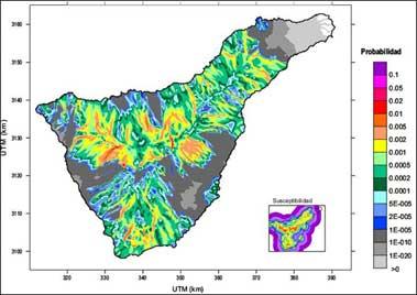 Peligrosidad volcánica en Tenerife