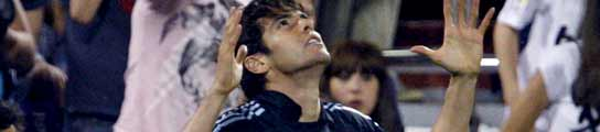 El Real Madrid sufre para mantenerse en la lucha por el título  gracias a Kaká (1-2)  (Imagen: EFE/Javier Cebollada)