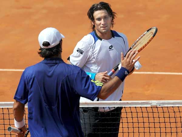 David Ferrer y Fernando Verdasco