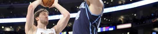 Pau Gasol ante Utah Jazz