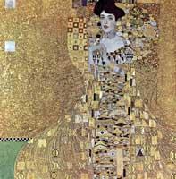 <p>'Retrato de Adele Bloch-Bauer, I', de Gustav  Klimt</p>