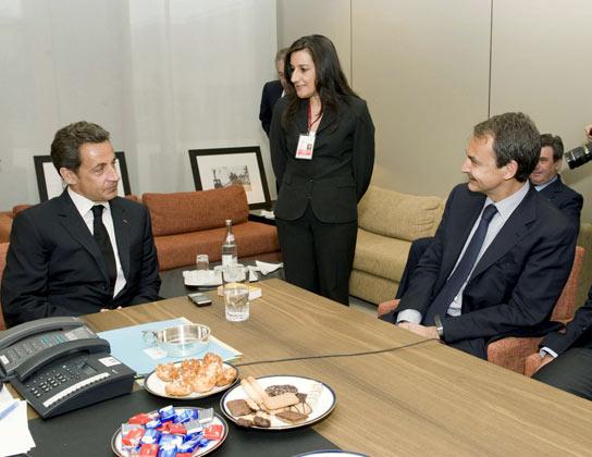 Sarkozy y ZP