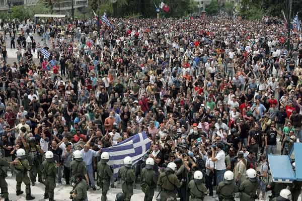 Crisis financiera griega