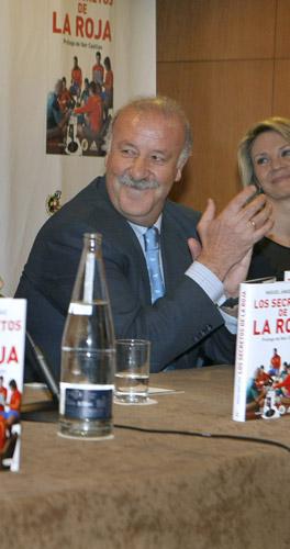 El seleccionador Vicente Del Bosque