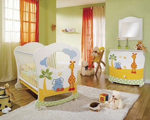 Los mejores colores para el cuarto del bebé