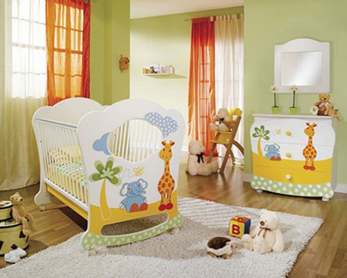Los mejores colores para el cuarto del beb for Colores de pared para habitacion