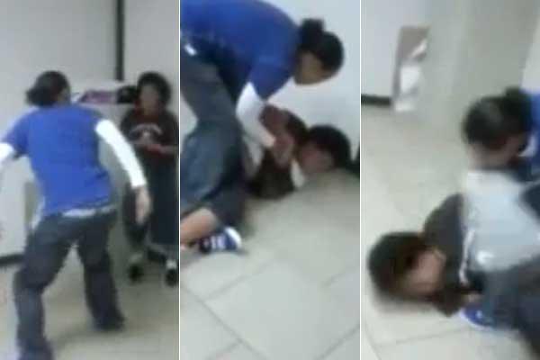 Una profesora agrede brutalmente a un alumno de 13 años