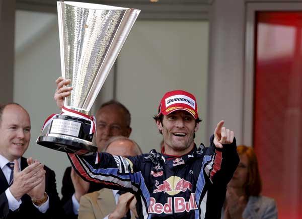 Mark Webber. Segunda seguida. Otra victoria para el australiano Mark Webber, dominador de principio a fin.