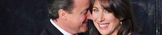 David y Samantha Cameron