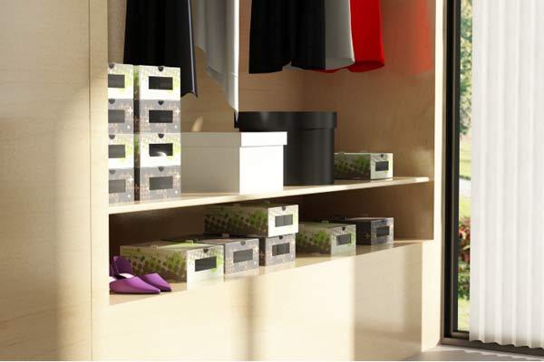 Cinco ideas para tener la casa ordenada for Casas para almacenaje