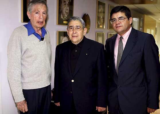 Alejandro Espinosa, Félix Alarcón y Patricio Cerda
