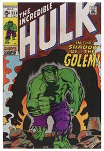 <p>El increíble Hulk, nº 134, de 1970.</p>