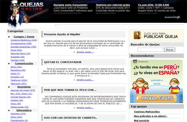 Quejas Online