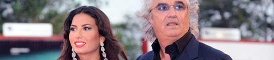 Elisabetta Gregoraci y Flavio Briatore