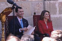 Los Príncipes de Asturias presiden el 9 de junio en Baluarte la entrega de los Premios Príncipe de Viana