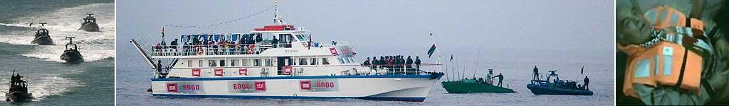Ataque de Israel a barcos