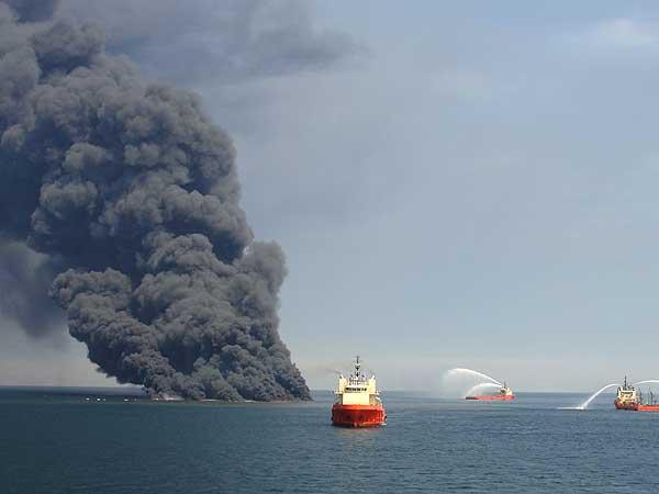Desastre en el Golfo de México