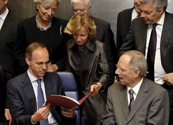 Salgado con el Eurogrupo