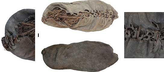El zapato más antiguo.
