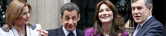 Los Brown y los Sarkozy