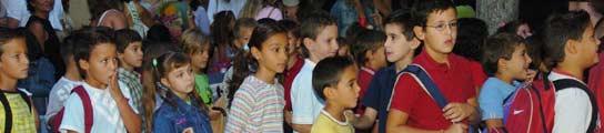 Un grupo de alumnos