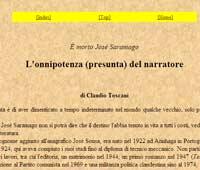 <p>Artículo sobre Saramago</p>