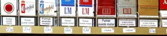Caen un 15,9% las ventas de cigarrillos durante el mes de septiembre  (Imagen: EP)