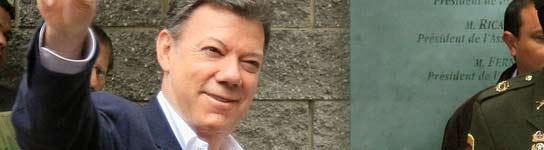 Santos gana las elecciones colombianas