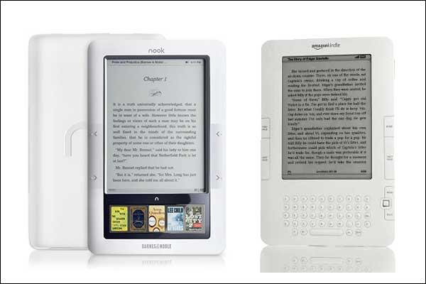 Nook y Kindle