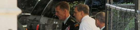 Obama destituye al general McChrystal como comandante de tropas en Afganistán  (Imagen: MICHAEL REYNOLDS / EFE)