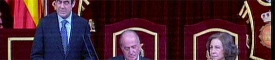 Los Reyes presiden en el Congreso el acto de homenaje a las víctimas del terrorismo  (Imagen: RTVE)
