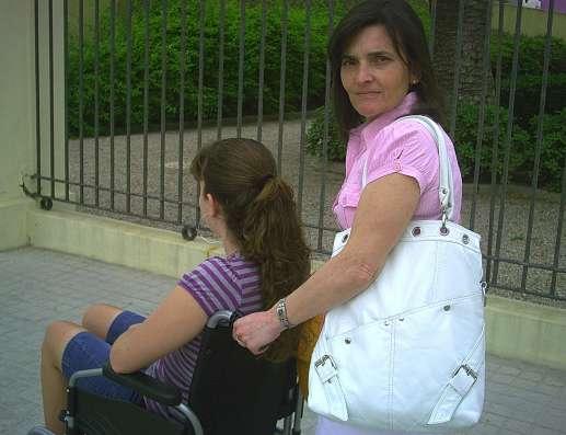 Afectada por la vacuna del papiloma humano