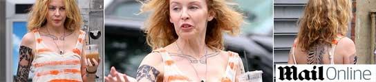 Kylie Minogue pierde su apariencia dulce y se llena de tatuajes en su  nueva película