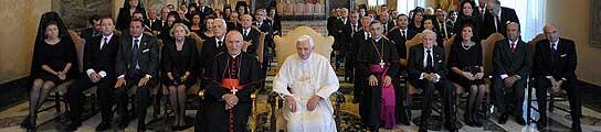 Un 'lobby' de empresarios españoles muestra su apoyo incondicional  al Papa  (Imagen: IP)