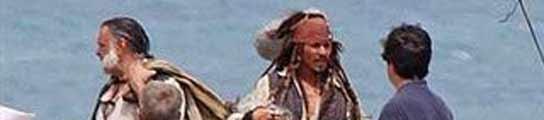 Primeras imágenes del rodaje de 'Piratas del Caribe 4': Depp vuelve como Jack Sparrow