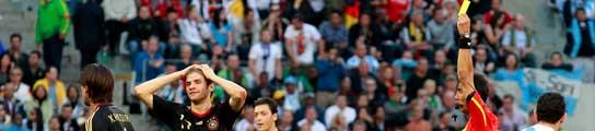 Alemania se queda sin su estrella, Müller