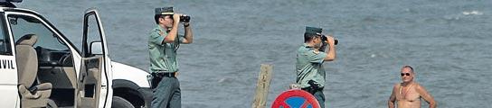 Agentes en prácticas vigilan las playas por falta de presupuesto