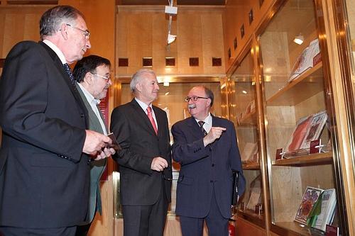 La Aljafería ofrece una exposición con más de un centenar de documentos sobre la nobleza aragonesa