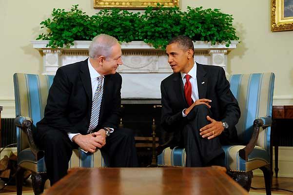 Benjamin Netanyahu y Barack Obama