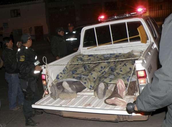 Cuatro españolas muertos en un accidente en Perú