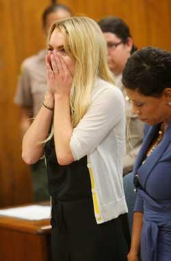 <p>Lindsay Lohan.</p>