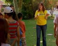 Escolares extremeños aprenden portugués realizando actividades lúdicas en un campamento de Badajoz