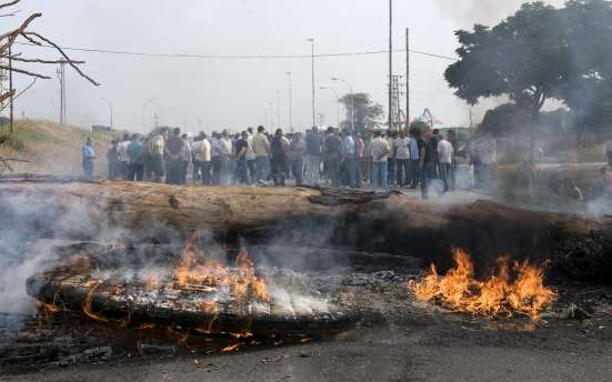 Protestas en los Astilleros de Sevillas