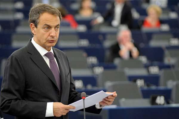 Zapatero hace balance de la presidencia de España en la UE.
