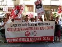 UGT rechaza ante la patronal cántabra de grandes superficies el convenio colectivo, que